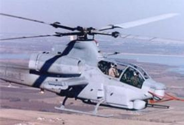 Lased and Confused: Off-the-Shelf Infrared Lasers Could Ward Off Missile Attacks on Military Helicopters