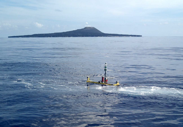 Aquatic Robot Braves Volcanoes and Typhoons to Detect Tsunamis