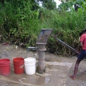 WATER FROM A BOREHOLE