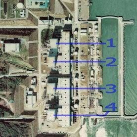 Fukushima Daiichi nuclear power plant reactors spent nuclear fuel pool