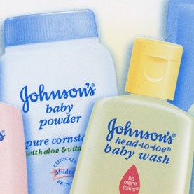 baby products from Johnson and Johnson