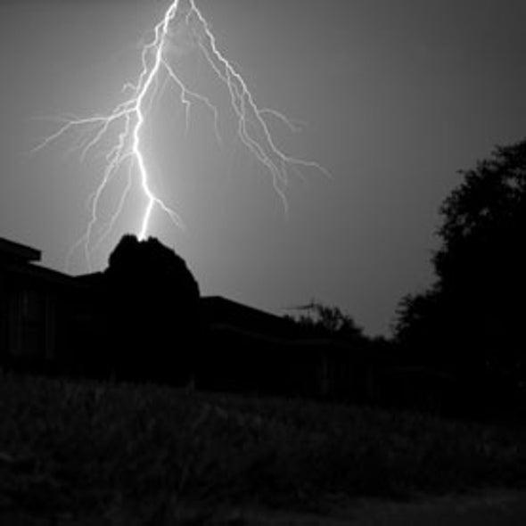 Could Lightning Provide Earlier Tornado Warnings?