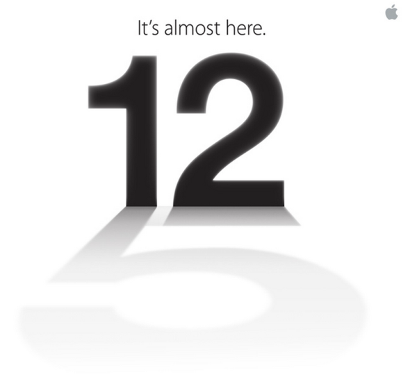 Apple's September 12 Invite Hints at iPhone 5