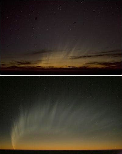 Comet McNaught's Trail