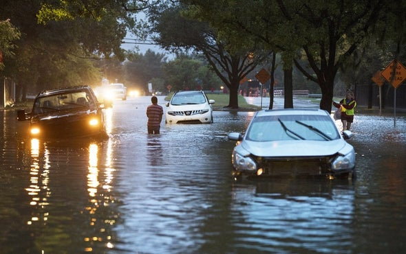 Flooding from Hurricane Harvey Causes a Host of Public Health Concerns