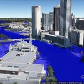 TAMPA, FLORIDA: Under one meter of sea level rise.
