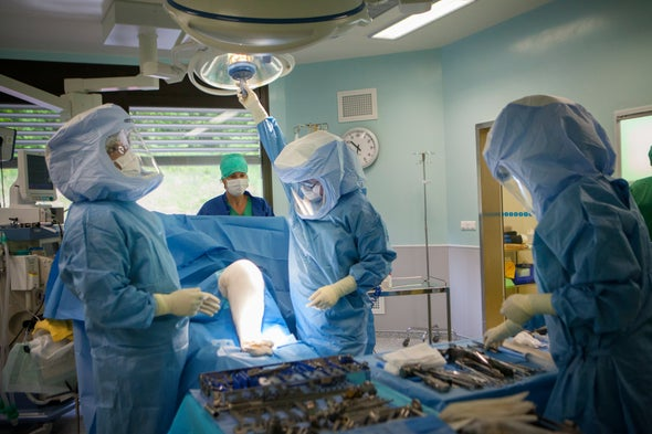 Robotic Knee Surgery Competition Heats Up