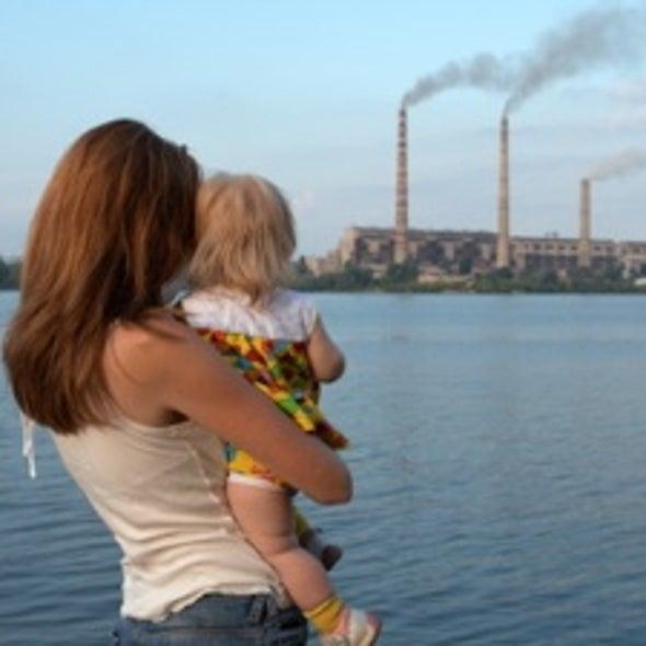 Urban Air Pollutants Can Damage IQs before Baby's First Breath