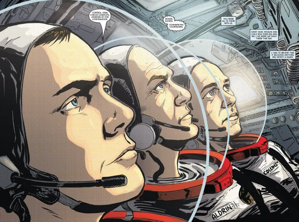 Apollo, the Graphic Novel; Scientists on Acid and Other New Science Books