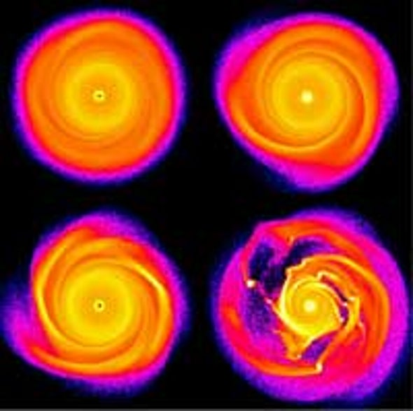 New Model Hints at Quick Formation of Gas Giants