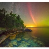 Weather, Water & Climate: Proton arc over Lake Superior