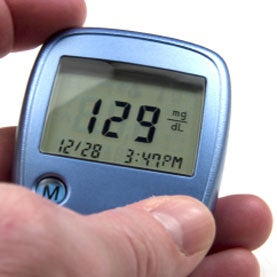 Blood glucose monitor medical device