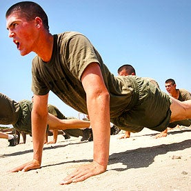 How the Marines Drill Troops to Save Energy