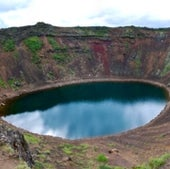CRATER LAKE, RUAPEHU, NEW ZEALAND