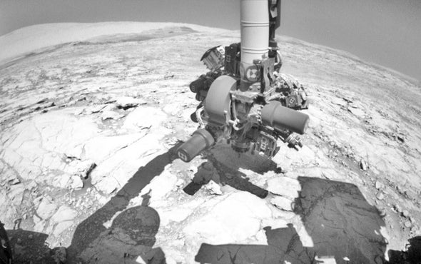 Curiosity Mars Rover Tests Drill after Long Delay