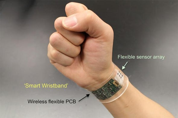 Wearable Sweat Sensor Paves the Way for Real-Time Analysis of Body Chemistry
