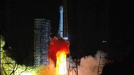 首次登陆月球,中国进入