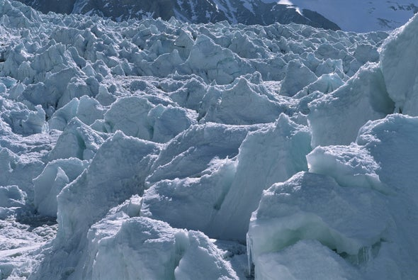 Glacier Suddenly Goes Galloping