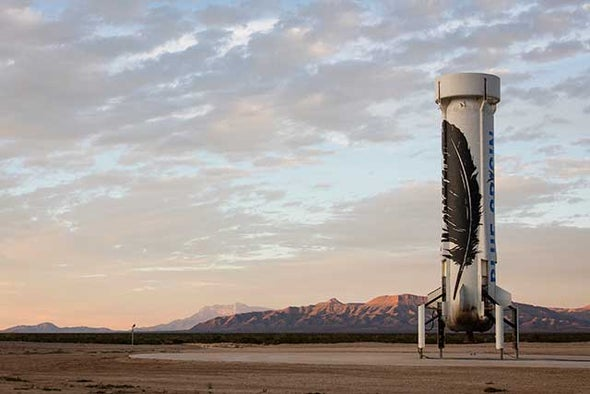 Blue Origin Makes Historic Reusable Rocket Landing in Epic Test Flight