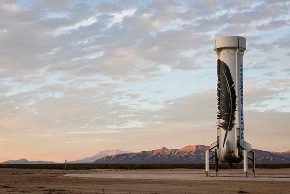 Blue Origin Makes Historic Reusable Rocket Landing in Epic Test Flight