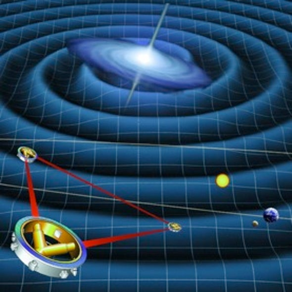 Catching a Gravity Wave: Canceled Laser Space Antenna May Still Fly