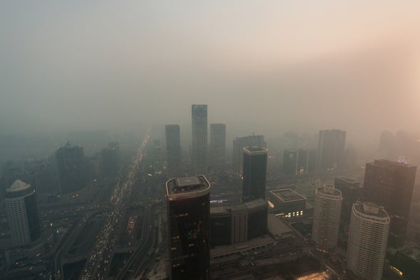 Reducing China's CO2 Emissions Would Curb Deadly Air Pollution in the U.S.