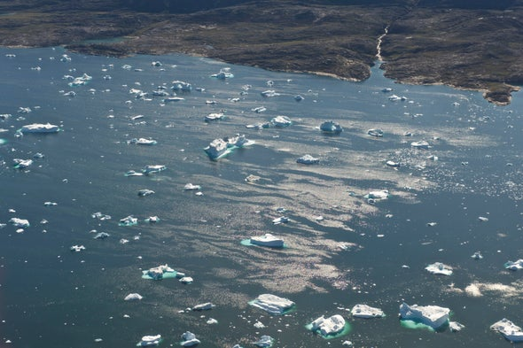 Greenland Is Melting Faster Than at Any Time in the Last 400 Years