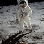MAN ON THE MOON: