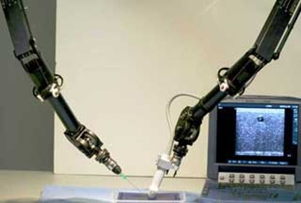 NASA Tests Robot Surgeon for Missions to Moon, Mars