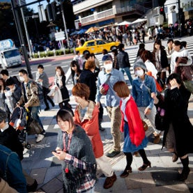 surgical masks radiation fears in tokyo