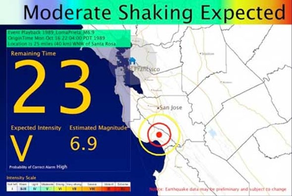Who Will Pay for an Earthquake Warning System on the West Coast?