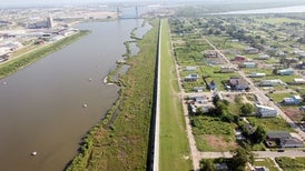 After a $14-Billion Upgrade, New Orleans' Levees Are Sinking