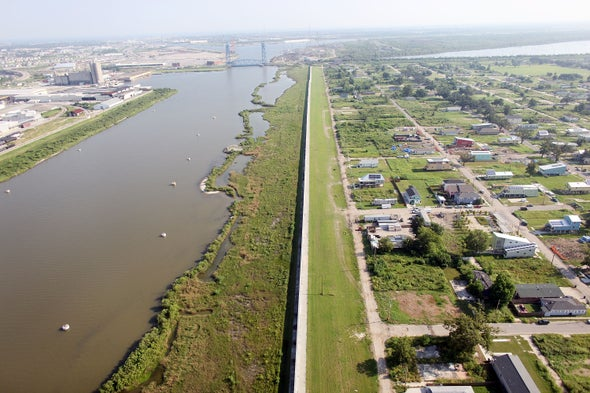 After A $14 Billion Upgrade, New Orleans' Levees Are Sinking