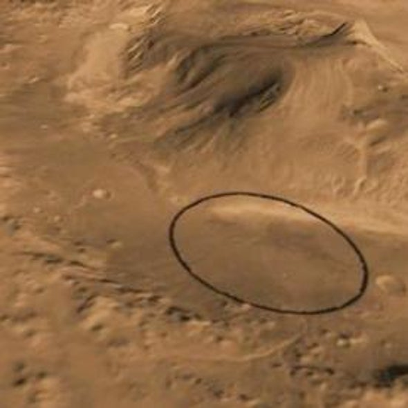 NASA's Next Mars Rover to Land at Huge Gale Crater