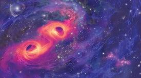 Astronomers Spy a Black Hole Devouring a Neutron Star