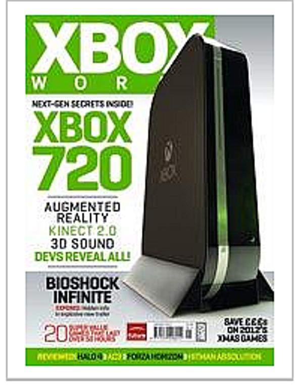 New Microsoft Xbox 720 Promises Latest Kinect, Plus Blu-ray Drive, Says <i>Xbox World</i>