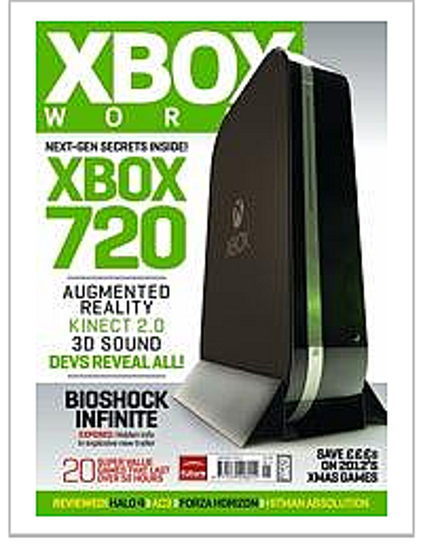 New Microsoft Xbox 720 Promises Latest Kinect, Plus Blu-ray Drive, Says <i>Xbox World</i>