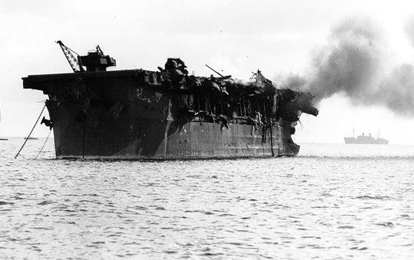 Secret Atomic Role of WW II–Era Aircraft Carrier Revealed