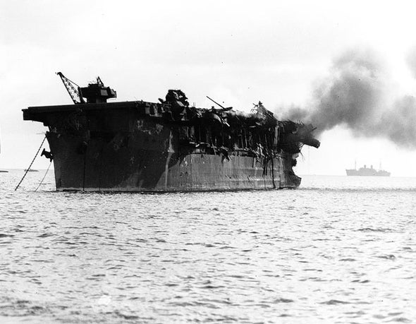 Secret Atomic Role of WW II–Era Aircraft Carrier Revealed