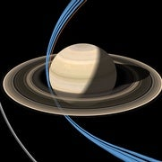 Saturn Probe Dives Past Rings for the First Time