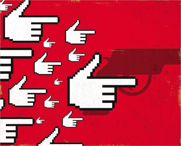 Mass Shootings' Social Contagion