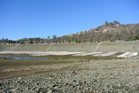 Record-Setting Drought Intensifies in Parched California