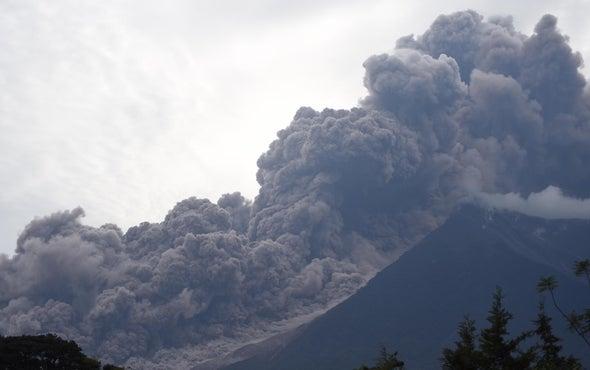 Lava and Ash from Fuego Volcano Kills 33 in Guatemala