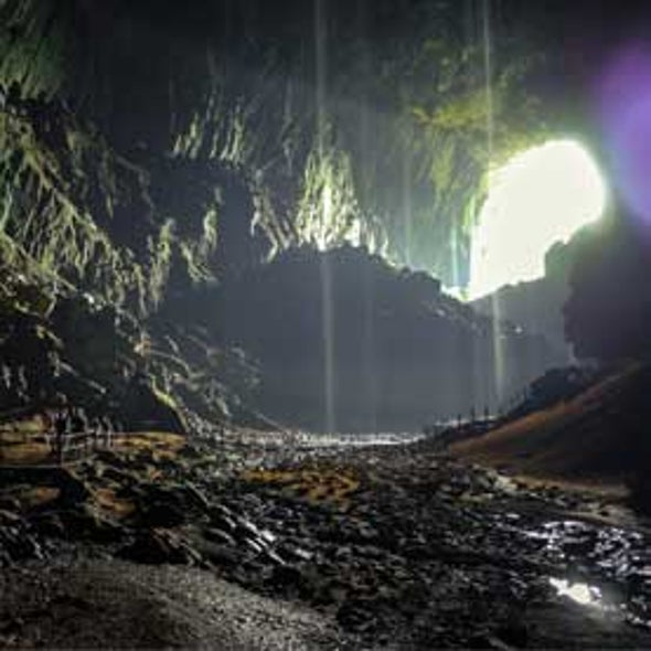 In Borneo, Stalagmites Tell Modern Story of Rainfall and Climate Change