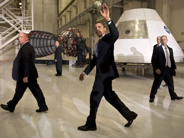 Blue Planet/Red Planet Politics: Obama's Giant Leap for Legacy
