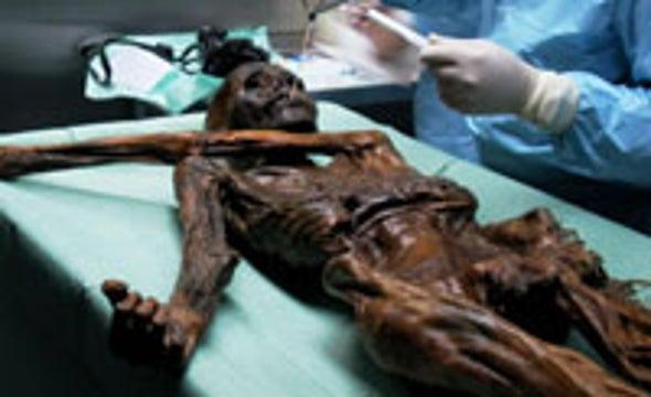 DNA Discloses Makeup of Iceman's Last Meals