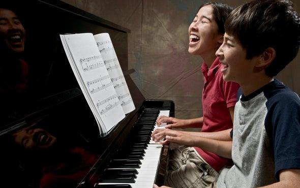 Piano Lessons Tune Up Language Skills