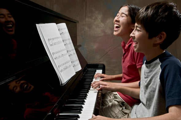 Piano Lessons Tune Up Language Skills