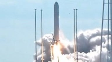 Private Cygnus Spacecraft Launches on Maiden Space Station Voyage