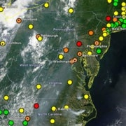 Slide Show: Painting the Picture of Air Quality with Satellite Data